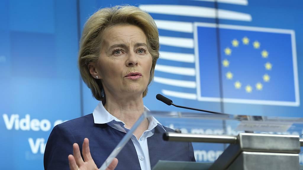 EU-Kommissionschefin drängt USA zum Bleiben in der WHO