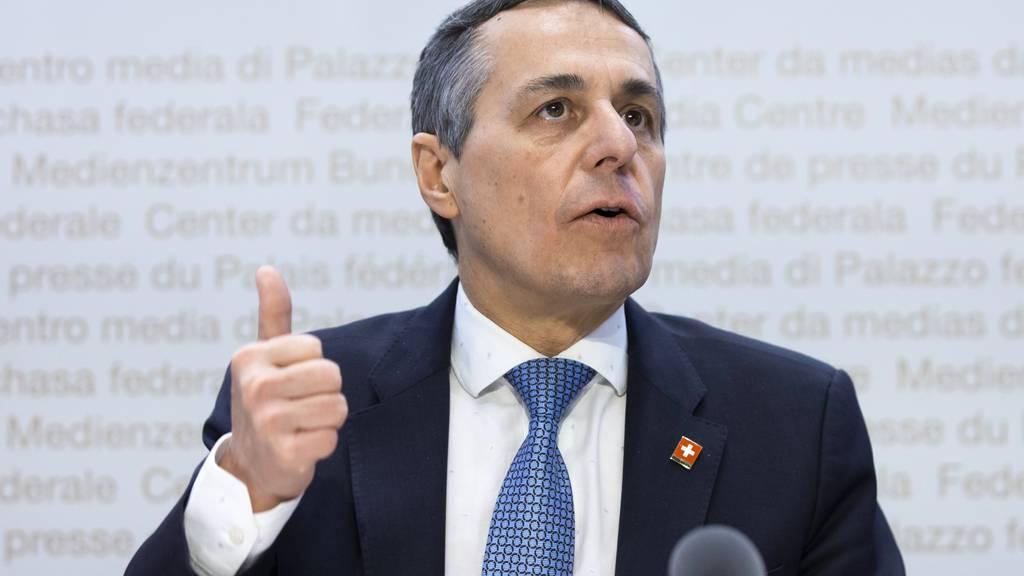 Cassis wirbt für Sitz der Schweiz im Uno-Sicherheitsrat