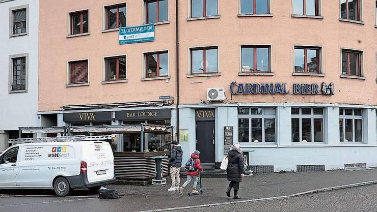 Die Viva-Bar in Baden wurde geschlossen.