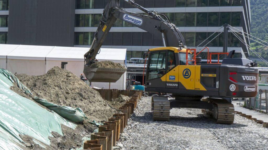 Mehrere Walliser Industriestandorte durch Umweltgifte belastet
