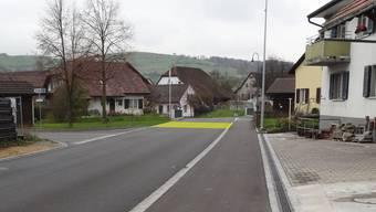 Die Maispracherstrasse soll für 350'000 Franken saniert werden (Visualisierung).
