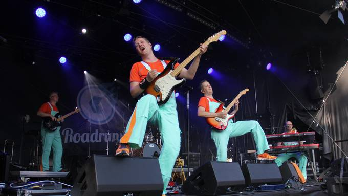 Die ersten Konzerte am Stadtfest Brugg.