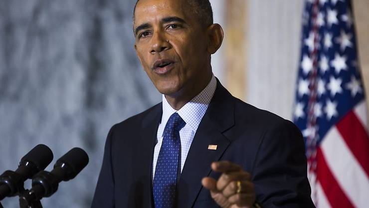 Trump bringe mit seinem fahrlässigen Gerede über einen Einreisestopp für Muslime und seiner Achtlosigkeit Amerikaner gegen Amerikaner auf, sagte Obama am Dienstag in Washington.