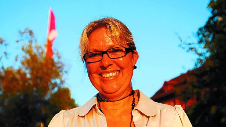 Ideenreich: Marianne Gertsch arbeitet bereits am zweiten und dritten Kinderbuch, für die Prominente malen.