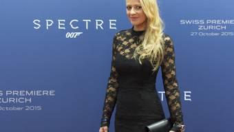 Ex-Miss-Schweiz Christa Rigozzi würde gerne einmal in die Rolle des James Bond schlüpfen. Denn sie fände es gut, wenn Geheimagent 007 künftig von einer Frau gespielt würde. Und als Bond Boy wünscht sie sich dann Brad Pitt. (Archivbild)