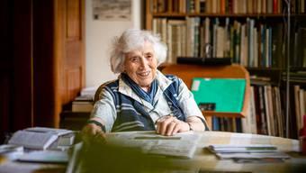 89 Jahre alt ist Veronika Thurneysen. Sie war die erste Pfarrerin der Stadt und wohnt noch heute in Solothurn.