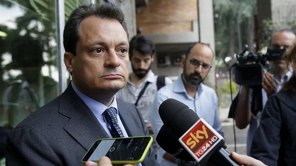 Der Anwalt des mutmasslichen Schleppers, Michele Calantropo, sagt, dieser sei gar nicht der gesuchte Mann.