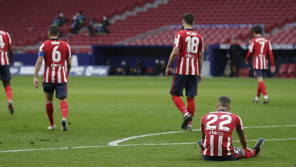 Karim Benzema verhinderte in der 88. Minute Atléticos Erfolg im Madrider Derby.
