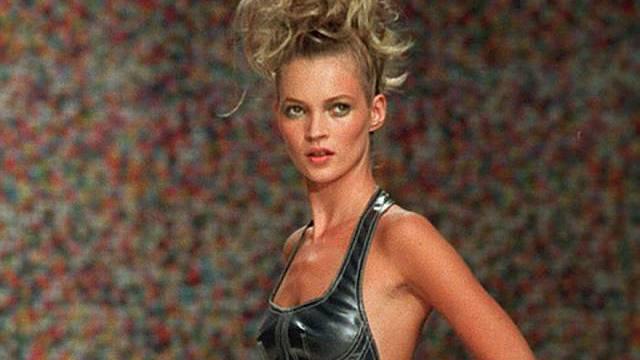 Kate Moss verlässt ihre Villa in London (Archiv)