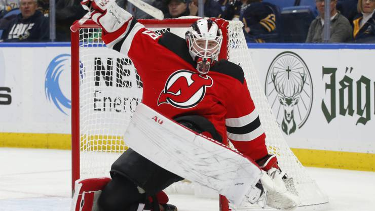 Devils' Goalie Mackenzie Blackwood konnte einem leid tun