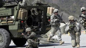 Bodentruppen, Luftwaffe, Marine und Spezialtruppen: An der jährlichen gemeinsamen Militärübung der USA und von Südkorea sind über 300'000 Soldaten beteiligt. (Archivbild)