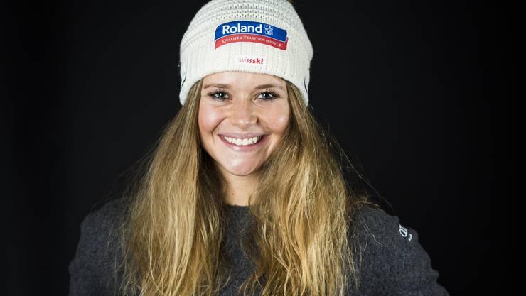 Skirennfahrerin Corinne Suter