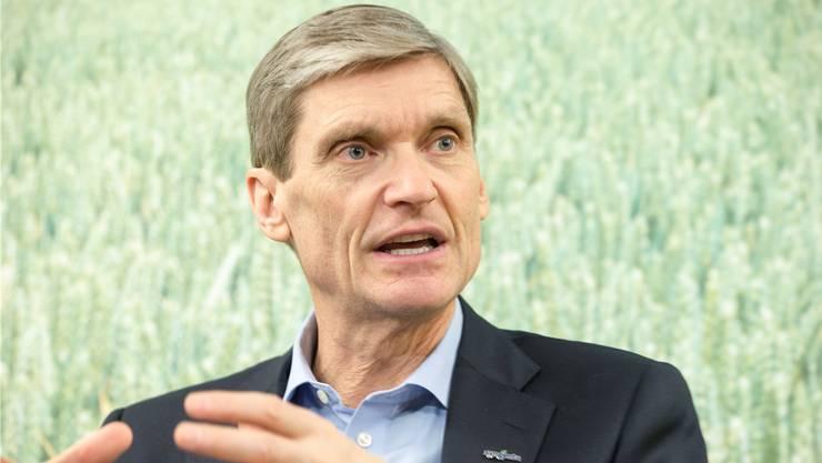Syngenta-Chef Erik Fyrwald steht dem Bio-Trend skeptisch gegenüber.