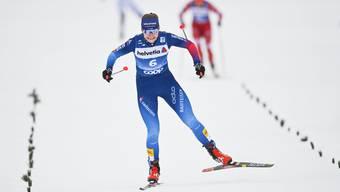 Von Startplatz 24 auf 16: Nadine Fähndrich zeigte bei der Verfolgung über 10 km Kämpferqualitäten.