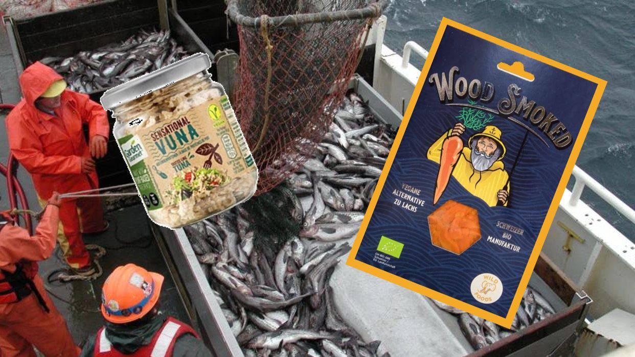 Detailhändler bieten immer mehr vegane Fischalternativen an.