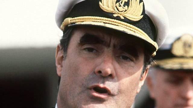 Emilio Eduardo Massera im Jahr 1977