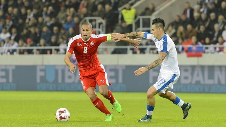 Gökhan Inler will zurück in die Nationalmannschaft.