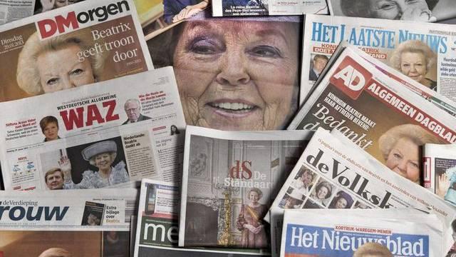 Mit der Ankündigung ihrer Abdankung hat Königin Beatrix weltweit für Schlagzeilen gesorgt