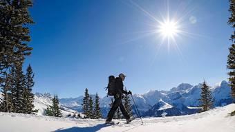 Wanderer im Urner Schächental: Wer als Schweizer in der Schweiz Ferien macht, soll belohnt werden.