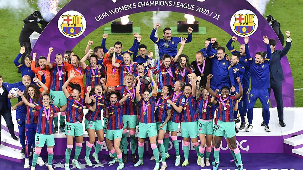 Der FC Barcelona mit der Schweizer Rekordtorschützin Ana-Maria Crnogorcevic startet als Titelverteidiger in die neue Champions-League-Saison