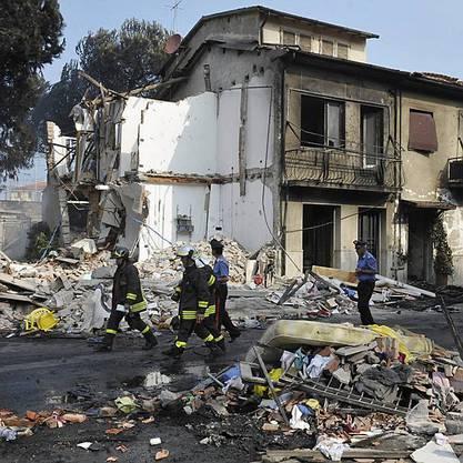 Bei der Explosion eines Güterzuges starben 31 Menschen.