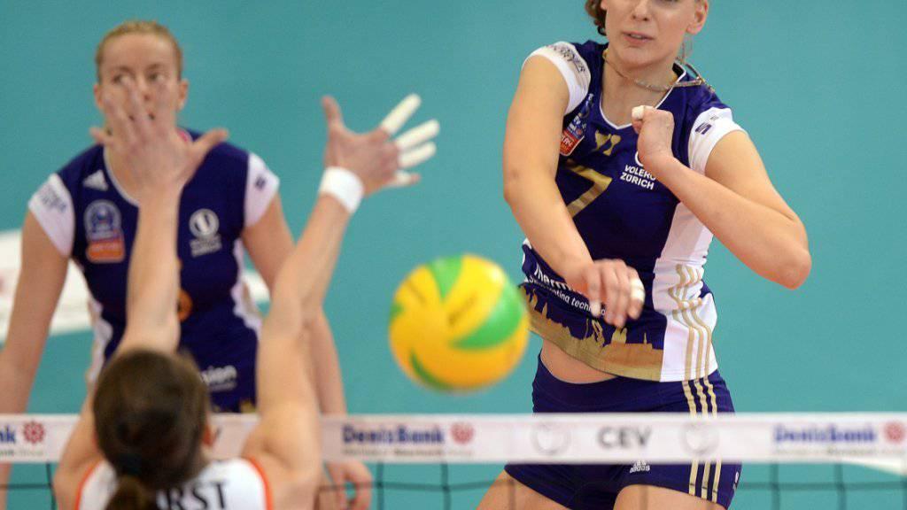 Alessia Rychljuk führte Volero zum ungefährdeten Auswärtssieg