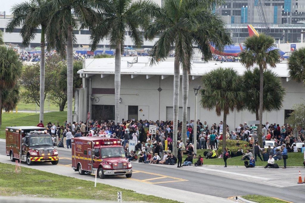 Schüsse in Florida (© EPA/EFE/Giorgio Viera)