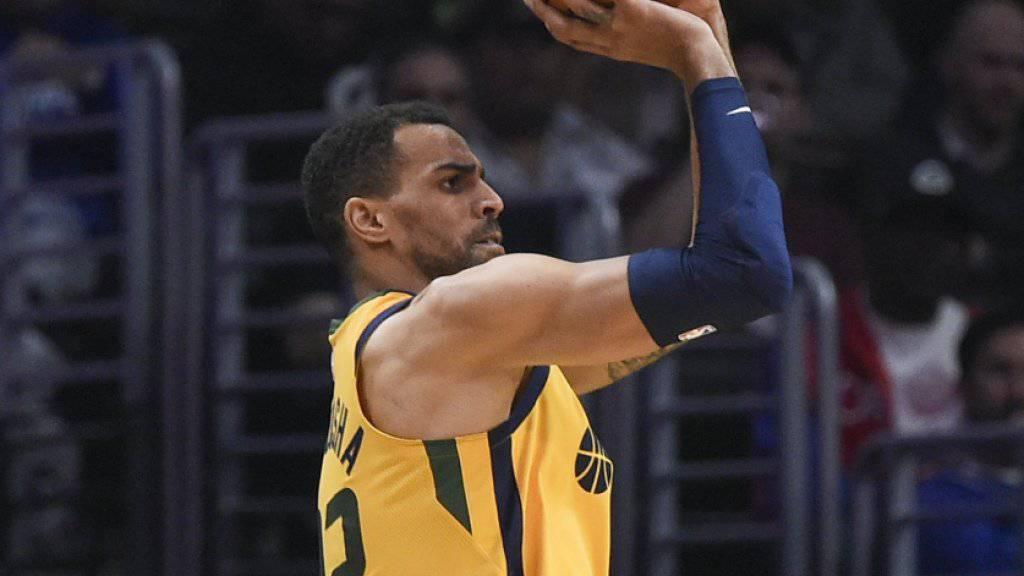 Kein erfolgreicher Abend mit den Utah Jazz: Thabo Sefolosha