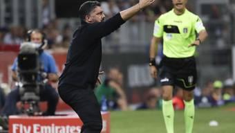 Gennaro Gattuso muss sich mit den Milanisti nicht selten ärgern