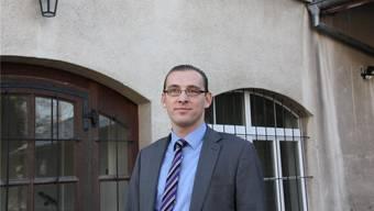 Daniel Lukuc, Geschäftsführer der Spitex Region Lenzburg. (MCH)