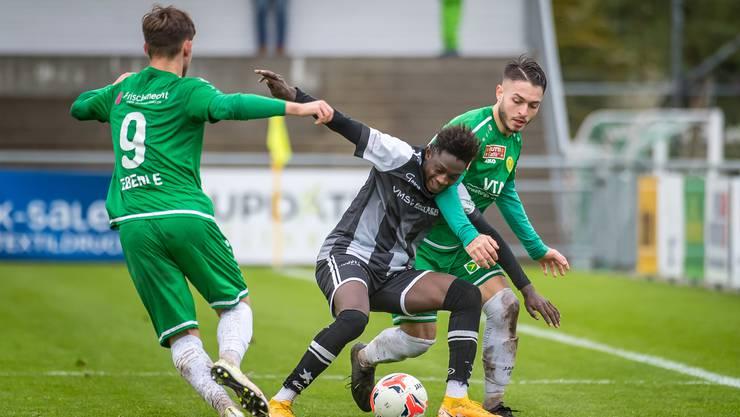 Die Black Stars erringen in St. Gallen einen wichtigen Auswärtserfolg.