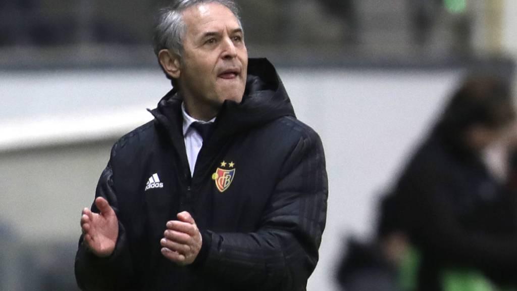 Dem FC Basel und Trainer Marcel Koller winkt die grosse Chance, in die Europa-League-Viertelfinals einzuziehen