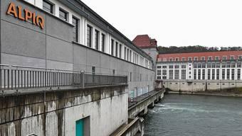 Das Wasserkraftwerk Gösgen ist das grösste Laufwasserkraftwerk an der Aare.