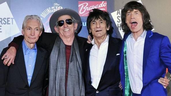 Die Rolling Stones in einer Aufnahme vom Juli 2012