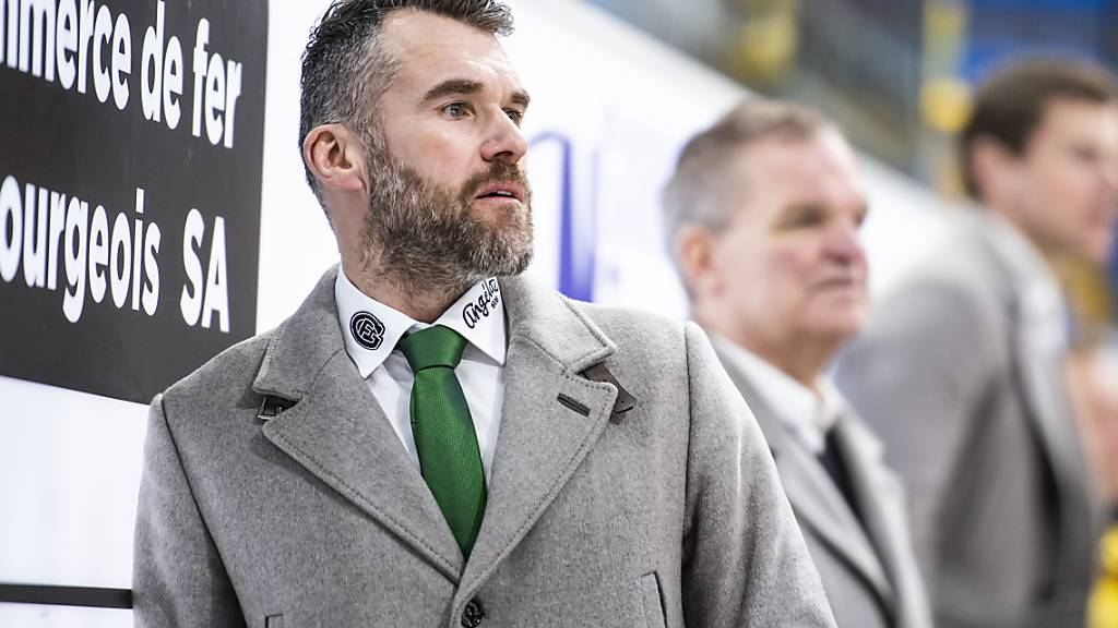 Christian Dubé bleibt Trainer von Fribourg-Gottéron