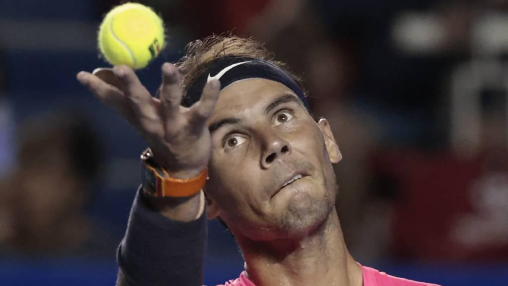 Rafael Nadal ist in Acapulco auf Titelkurs