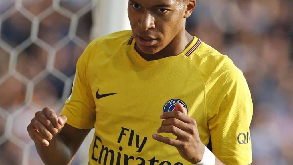 Kylian Mbappé strauchelt mit Paris Saint-Germain gegen Montpellier