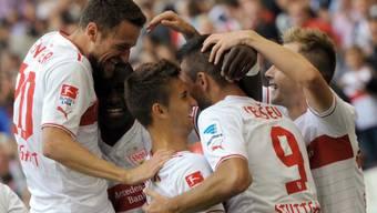 Der VfB feiert einen Kantersieg gegen Hoffenheim.