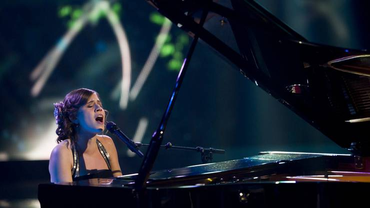 Eliane Müller während ihrem Auftritt