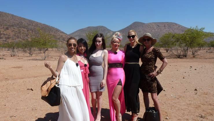 v.l.: Senna Gammour, Jinjin Harder, Ingrid Pavic, Miriam Balcerek, Sara Kulka und Barbara Engel