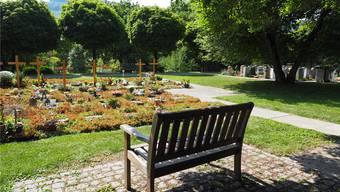 Auf dem Friedhof in Frick gibt es kein spezielles Grabfeld für Muslime. Ein solches ist laut Gemeindeschreiber Heinz Schmid derzeit auch nicht geplant. Thomas Wehrli