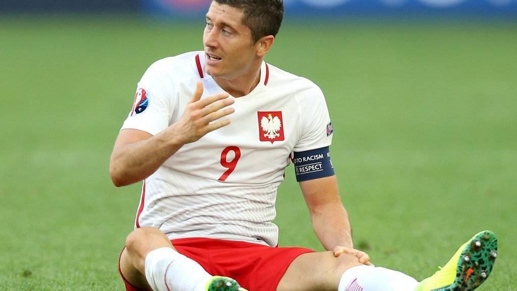 Lewandowski im EM-Spiel gegen die Ukraine.
