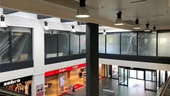 Die leere Ladenfläche im ersten Obergeschoss wird derzeit umgebaut.