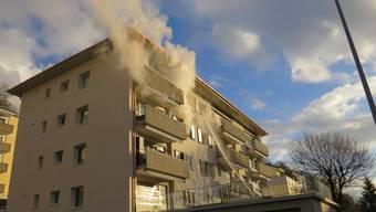 In Basel kam es in einer Loftwohnung zu einem Brand (Symbolbild).