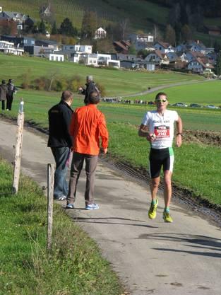 Daniel Waldmeier kurz vor dem Ziel