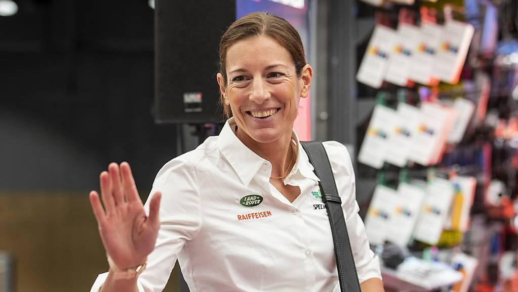 Kommt unverhofft zu einem WM-Einsatz: Olympiasiegerin Nicola Spirig.