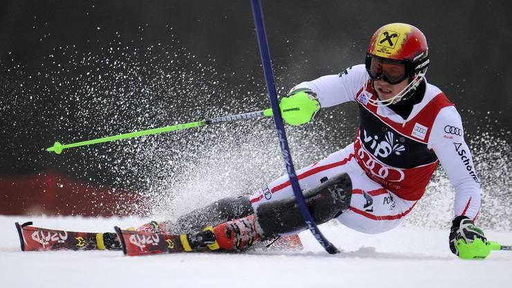Marcel Hirscher in Action
