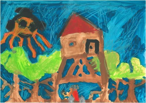 1 Moana (7, zwei ältere Geschwister): «Wir werden in einem Wäldchen bei Luzern zelten. Dort gibt es einen Bauernhof, wo wir mit den Kälbchen spielen.»