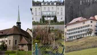 Zu verkaufen: Kapuzinerkloster Solothurn, Fridau und Allerheiligenberg.