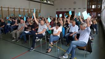 Gemeindeversammlung Buchegg